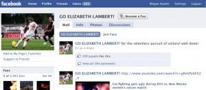 Go Elizabeth Lambert! Facebook Page